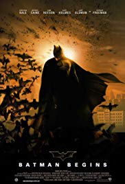 Batman Begins Book Cover