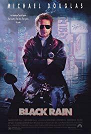 Black Rain Book Cover