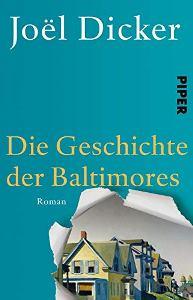 Die Geschichte der Baltimores Book Cover