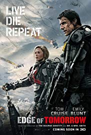 Edge of Tomorrow Book Cover
