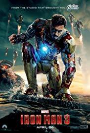 Iron Man 3 Book Cover