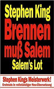 Brennen muss Salem Book Cover