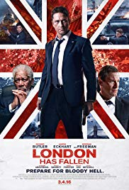 London Has Fallen Book Cover