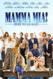 Mamma Mia! Here we go again Book Cover