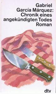 Chronik eines angekündigten Todes Book Cover