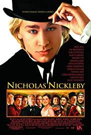 Nicholas Nickleby Book Cover