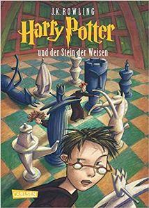 Harry Potter und der Stein der Weisen Book Cover