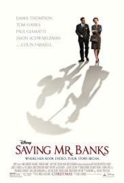 Saving Mr. Banks Book Cover