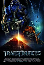 Transformers - Die Rache Book Cover