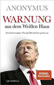 Warnung aus dem Weißen Haus Book Cover